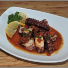 Mediterranean Octopus – A Tapas Plate