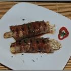 Enoki Beef Rolls with Eel Sauce