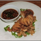Ginger Fried Baby Octopus