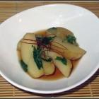 Mizuna Potato Nimono Recipe