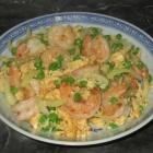 Spiced Eggs with Shrimp
