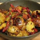 Spicy Roast Potatoes and Peppers