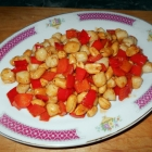 Spicy Bay Scallops with Peanuts and Peppers