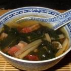 Pork Belly and Daikon Soup