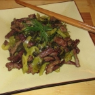 Beef with Pickled Mustard Greens 酸菜炒牛肉絲