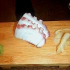 Octopus Sashimi at Kiko Sushi