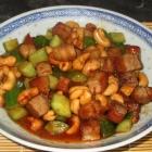 Spicy Cashew Cucumber Pork
