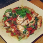 Chicken with Lemongrass and Basil