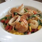 Paella with Seafood at Sabor