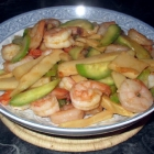 Chili Bamboo Pickle Shrimp