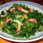 Kale Braised with Bacon Recipe
