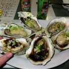 Oysters Steamed Three Ways