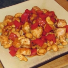 Chicken with Peppers and Cashews