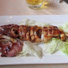 Squid Grilled at Piment Rouge