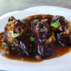 Stuffed Eggplant at Chinatown