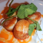 Scallops Grilled at Claddagh House