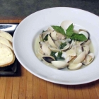 Clams with Wine and Basil