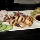 Squid Grilled at Izakaya