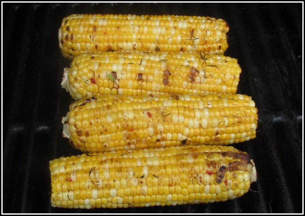 The Corn on the Grill