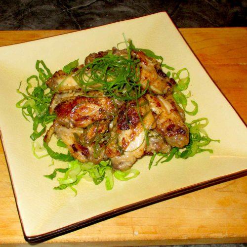 Lemongrass Chicken Wings