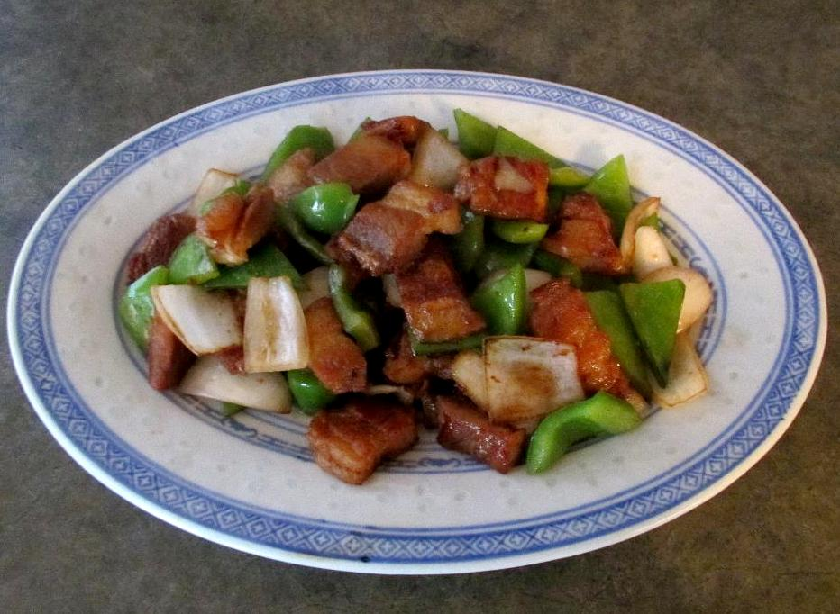 Crispy Pork with Green Peppers
